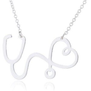 New Heart Stethoscope Necklace 7
