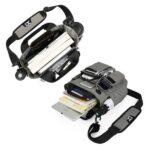 2019 Men Multifunctional Waterproof Shoulder Messenger Large Capacity Storage Bag with Headphone Hole11 (3)