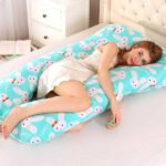 100% Cotton Sleeping Support Pillow For Pregnant Women Body 2