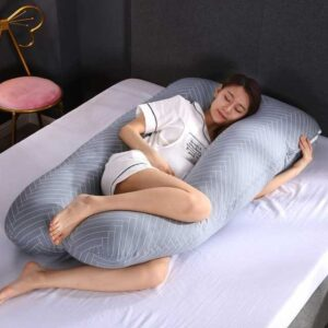 100% Cotton Sleeping Support Pillow For Pregnant Women Body 3