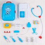 17 Pcs Toddler Boy Toy Medical Kit Doctor Pretend Play Set Development Kids Game (1)