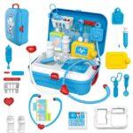 17 Pcs Toddler Boy Toy Medical Kit Doctor Pretend Play Set Development Kids Game (5)