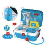 17 Pcs Toddler Boy Toy Medical Kit Doctor Pretend Play Set Development Kids Game (6)