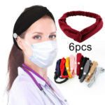 6Pcs Ears Protect Button Headband for Nurses and Doctors (1)
