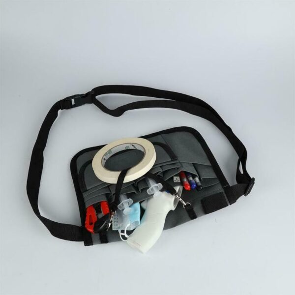 Medica Organizer Belt for Nurse and Doctor with Stethoscope Holder and Tape Holder (4)