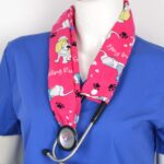 Stylish Medical Stethoscope Cover Made From Cotton (2)