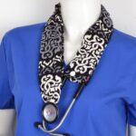 Stylish Medical Stethoscope Cover Made From Cotton (6)