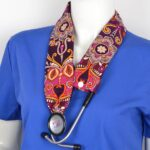 Stylish Medical Stethoscope Cover Made From Cotton (8)