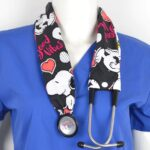 Stylish Medical Stethoscope Cover Made From Cotton (9)