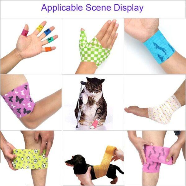 Stylish Colorful Elastic Bandage 3