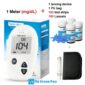 Sinocare Safe Accu Blood Glucose Meter Glucometer